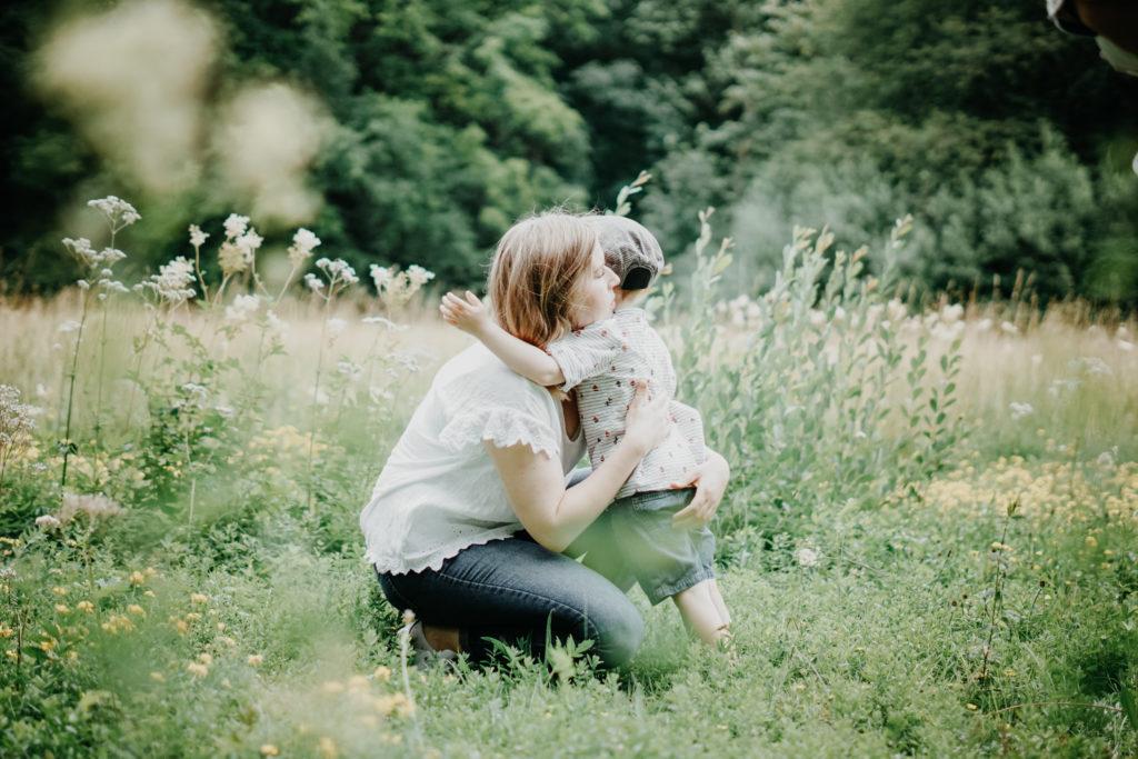 Mutter und Sohn Fotografie