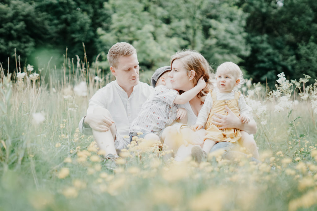 Familie Fotoshooting Outdoor